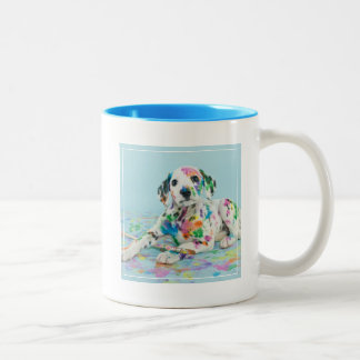 Dalmatian Puppy Two-Tone Coffee Mug