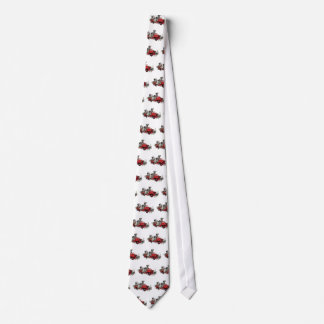 Dalmatian Pups with Fire Truck Tie