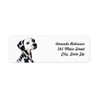 Dalmatian Return Address Label