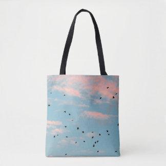 Dalmatian Sky Print Tote Bag