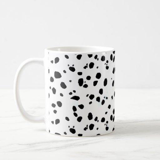 Dalmatian Spots, Dalmatian Print, Dalmatian Fur Mug