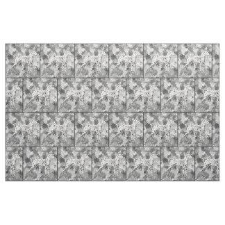 Dalmatian Square dog breed fabric