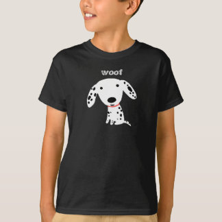 Dalmatian Woof T-Shirt