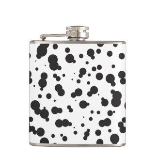 Dalmatine Dots Pattern Flasks
