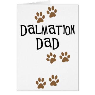 Dalmation Dad Card