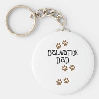 Dalmation Dad Key Ring
