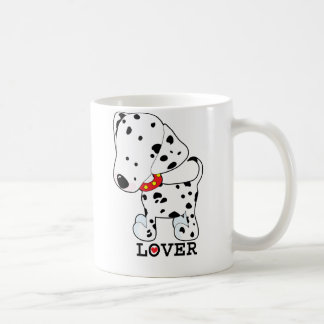 Dalmation Lover Basic White Mug