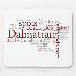 Dalmation Mouse Pad