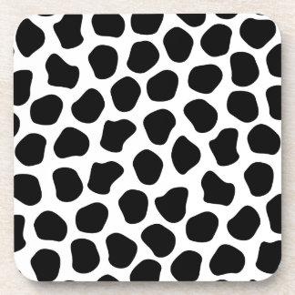 Dalmation Print Coasters