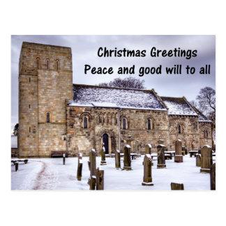 Dalmeny Parish Church Postcard