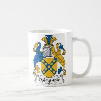 Dalrymple Family Crest Classic White Coffee Mug