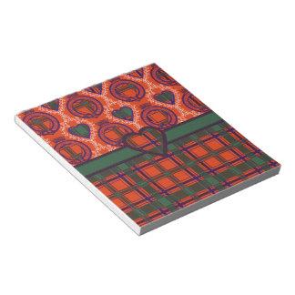 Dalzell Scottish Tartan Notepads