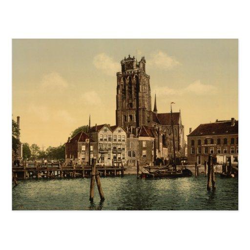 Dam and Maashaven Dordrecht Postcards