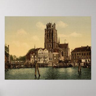 Dam and Maashaven Dordrecht Posters