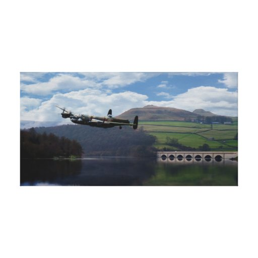 Dam Buster Gallery Wrap Canvas