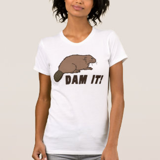 Dam It Beaver Tee Shirt