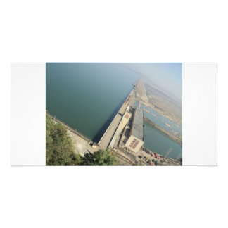 Dam Photo Greeting Card