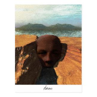 dam postcard