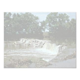 "Dam-Redland Creek, Tennessee 4.25"" X 5.5"" Invitation Card"