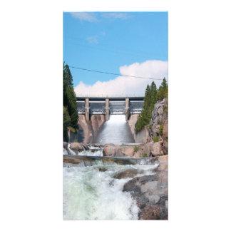 Dam Water Release Photo Card