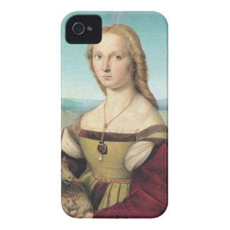 dama col liocorno by Raffaello Sanzio da Urbino Blackberry Bold Cover
