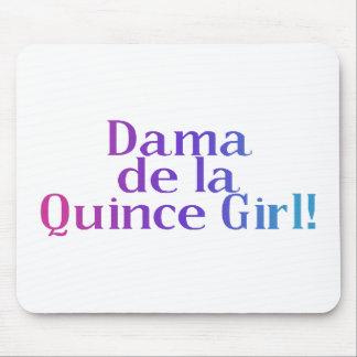 Dama de la Quince Girl Mouse Pad