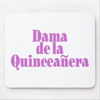 Dama de las Quinceanera Mouse Pad
