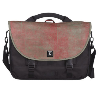 Damaged Red Pattern Grungy Background Laptop Bags