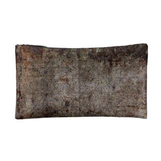 Damaged Wood Cosmetic Bag