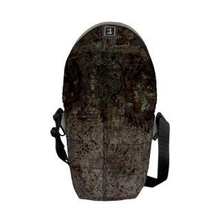 Damaged Wood Courier Bag