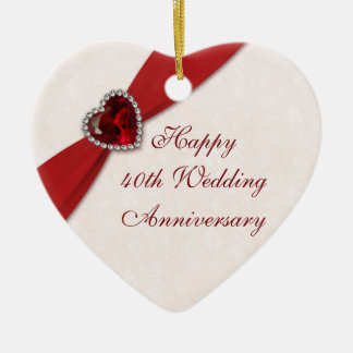 damask ruby wedding anniversary decorations damask ruby