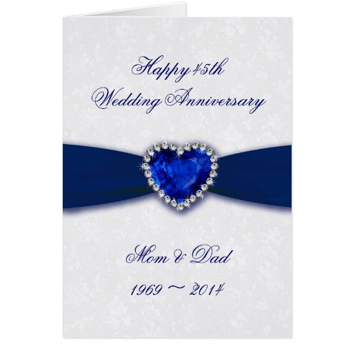 Damask th wedding anniversary greeting card zazzle