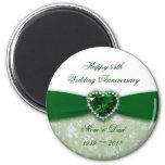 Damask 55th Wedding Anniversary