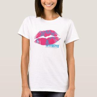 Damask Aqua-Magenta T-Shirt