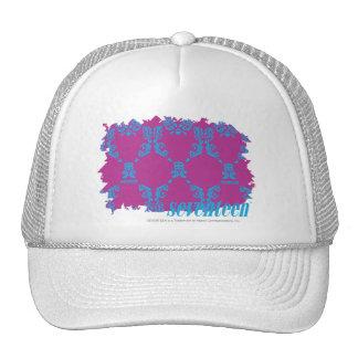 Damask Aqua-Purple 2 Cap