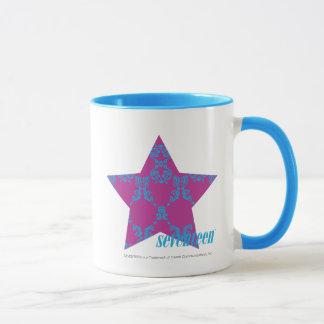 Damask Aqua-Purple 3 Mug
