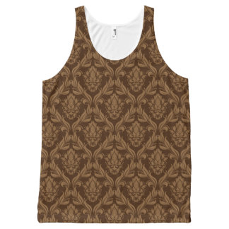 Damask background 2 All-Over print tank top