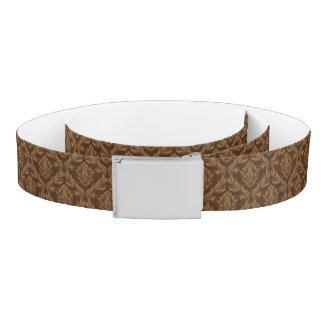 Damask background 2 belt