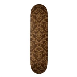 Damask background 2 skate boards