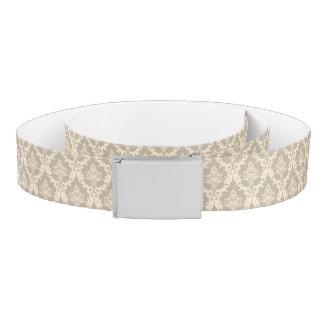 Damask background belt