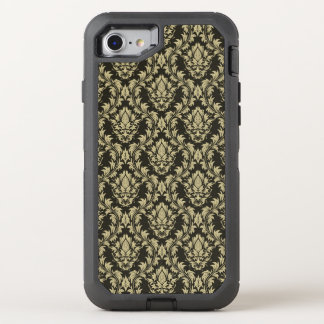 Damask background OtterBox defender iPhone 8/7 case