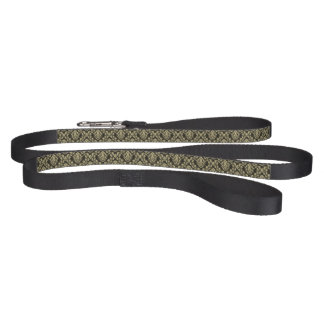 Damask background pet lead