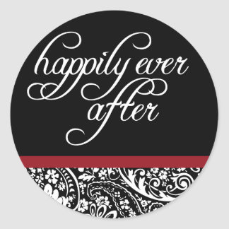 Damask Beauty-Happily Ever After Sticker