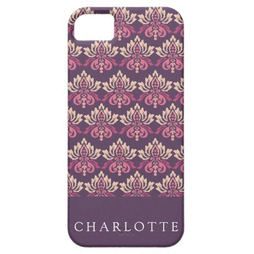 Damask Berry iPhone 5 Case