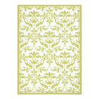 Damask Border with Double Frame (Yellow) Card