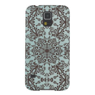 Damask Brown Samsung Galaxy S5 Case