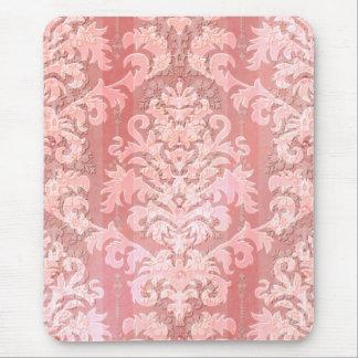 Damask Cut Velvet, Antique Lace Mouse Pad