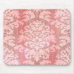 Damask Cut Velvet, Antique Lace Mousepad