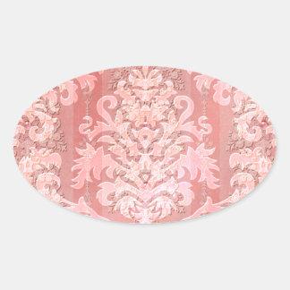 Damask Cut Velvet, Antique Lace Sticker