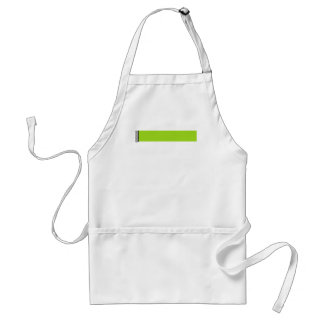 Damask Delight in Lime Green Standard Apron